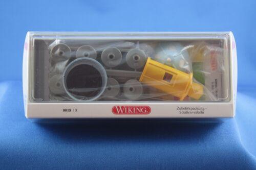 Wiking Zubehörpackung 0018 10 Straßenverkehr 1//87 H0 OVP aus Sammlungsauflösung