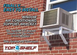 Topshelf Window Air Conditioner Support Bracket Ebay