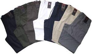 Pantalone-uomo-taglia-M-L-XL-XXL-3XL-COTONE-leggero-SEA-BARRIER-SPIAGGIA-estate