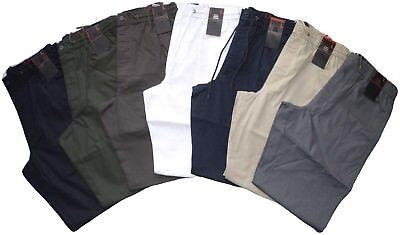Pantalone uomo taglia M L XL XXL 3XL COTONE leggero fango SEA BARRIER SPIAGGIA