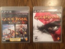 God of War Collection & III (Sony PlayStation 3) PS3 3 games on 2 discs I II III