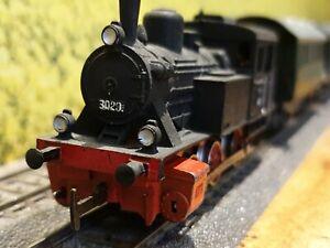 Rara-vez-Marklin-coleccion-h0-br-3029-painted-personas-tren-de-carga-4-carro
