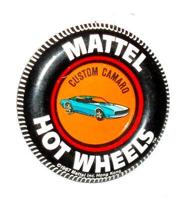 Custom T-Bird Button Hot Wheels Redline Badge 1967 Pin