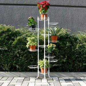 Pflanzentreppe-Pflanzregal-Blumenstaender-Blumentreppe-Blumen-11-Ebenen-3-Farbe