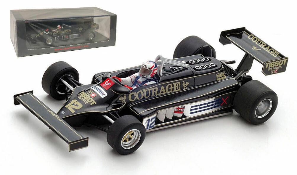 Spark S5351 Lotus 87 Practice British GP 1981 - Nigel Mansell 1 43 Scale