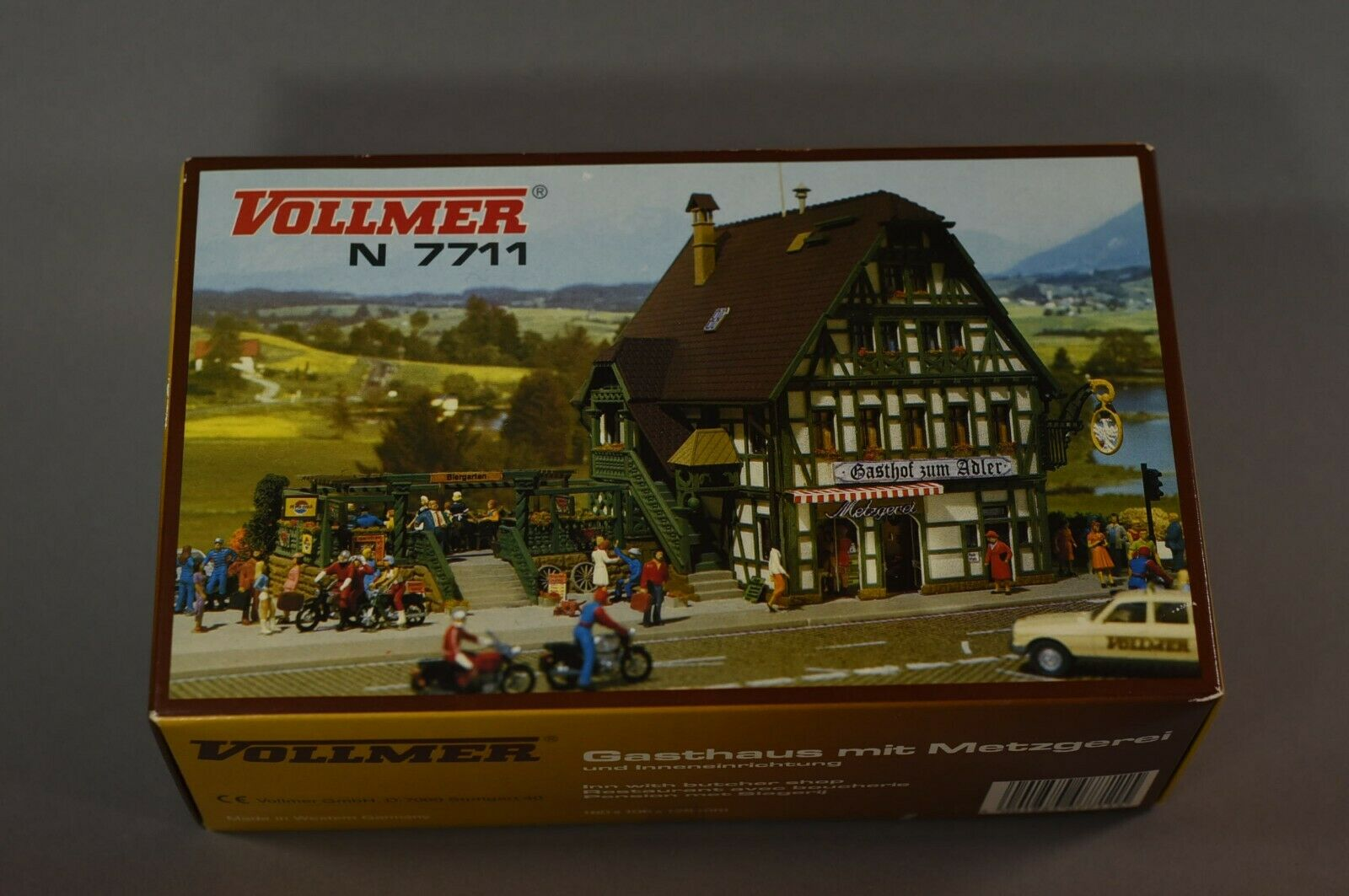 Vollmer 7711 Gasthaus mit Metzgerei, Spur N, Top Zustand OVP  | Haben Wir Lob Von Kunden Gewonnen