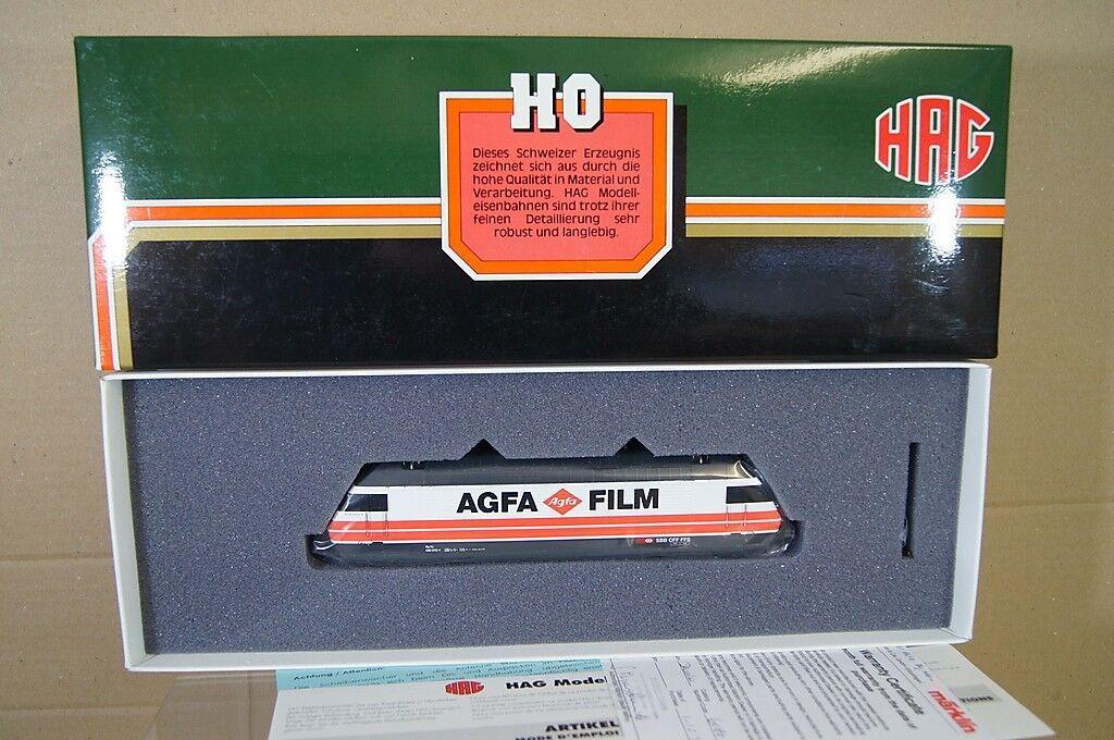 Hag 280 Digital Ac SBB Cff Klasse Re 4 4 460 E-Lok Lokomotive 015-1 Agfa Folie