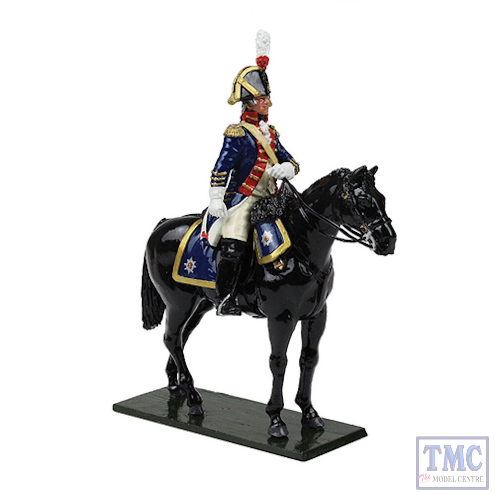 B47057 W.Britain British Horse Guards bluees Officer 1795 Regiments Classic