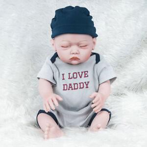e054ae71fa09 20   Lifelike Reborn Baby Full Body Silicone Vinyl Newborn Boy Doll ...