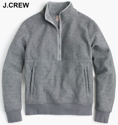 J.Crew Mercantile mens Fleece Half-zip Pullover