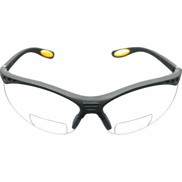 Dewalt Reinforcer Rx 2 0 Bifocal Safety Glasses Clear Lens Dpg59 120d Readers For Sale Online Ebay