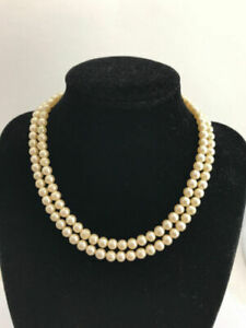 Vintage Richelieu 50 Strand Simulated Pearl Necklace Ebay