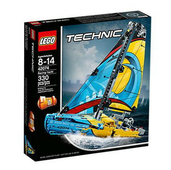 LEGO 42074 Technic Racing Yacht 330 Pieces Lego Block Toy