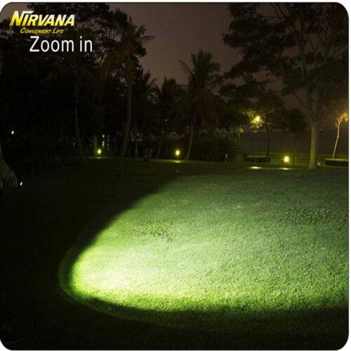 UV Ultra Violet LED Flashlight Blacklight Torch Light Inspection Lamp 80000LM