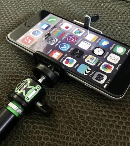 Mobile Phone holder for bankstick.Phone holder for fishing.Inc Light And Remote