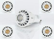 5 Set LED GU10 230V 6W (=60W) Dimmbar Lampe Strahler Birne Spot Warmweiß Lampe
