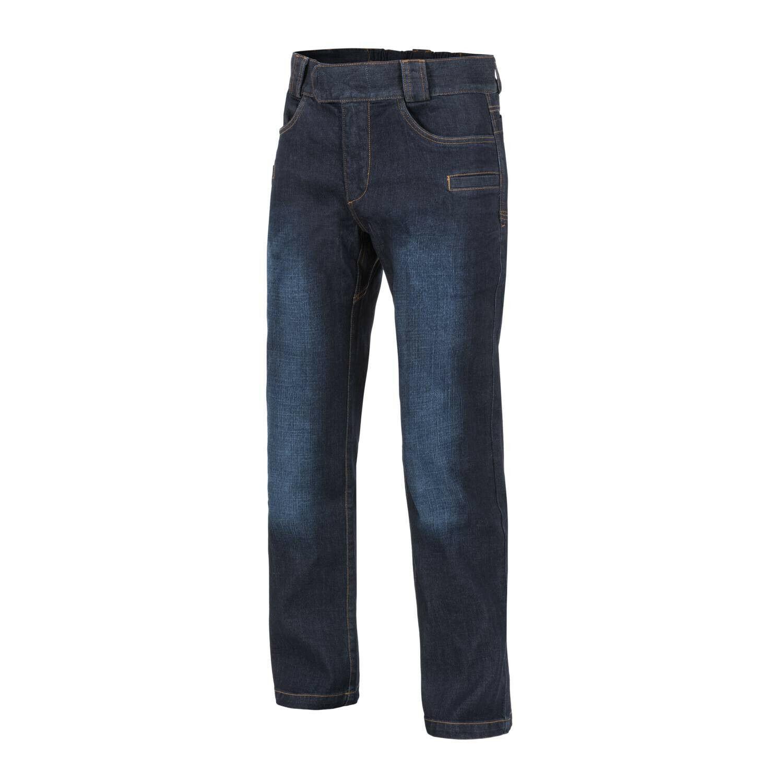 Helikon Tex grisman Tactical Jeans Denim Mid Dark bleu Pantalon Medium Regular