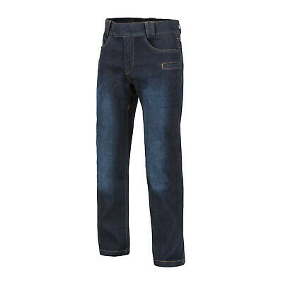 Bene Helikon Tex Greyman Tactical Jeans Denim Mid Dark Blue Pantaloni Medium Regular-mostra Il Titolo Originale
