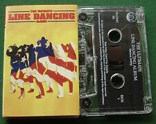 The Ultimate Line Dancing Album Dolly Parton Steve Earle + Cassette Tape TESTED