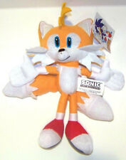 """Sonic the Hedgehog Mini Tails Plush 7""""-8"""" Yellow Plush Doll-New with Tags!"""