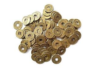 100 Käsch Chinesische Glücksmünzen China Glücksbringer Glück