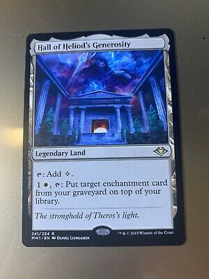 MTG Modern Horizons MH1 Hall of Heliod/'s Generosity NM
