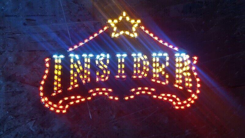 Enseigne lumineuse pour INSIDER Faller 140434 H0 Kirmes beleuchtung