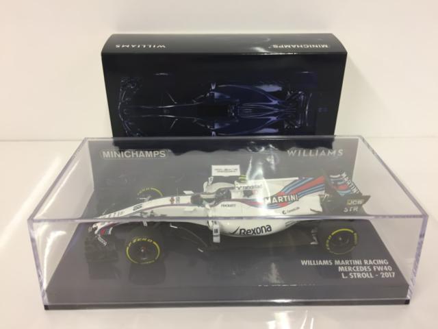 Minichamps 417170018 Williams Martini Racing Mercedes FW40 L.Spaziergang 2017