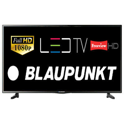 """Blaupunkt 43-1340 43"""" LED TV Full HD 1080p With Freeview HD Tuner HDMI SCART"""