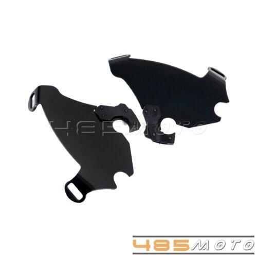 Trigger Lock Mount Bracket Gauntlet Fairing Kit For Harley Davidson Dyna 1986-16