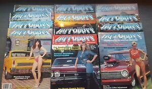 11-New-Uncirculated-Autobuff-Car-Magazines-1982-1984
