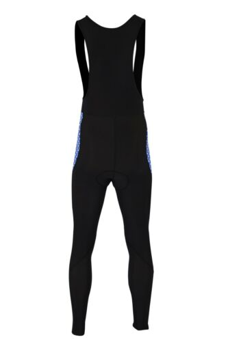 Mens Cycling Bib Tights Thermal Cold Wear Bicycle Trouser Padded Roubaix Tights