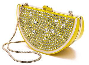 Image Is Loading Kate Spade Via Limoni Lina Lemon Wedge Handbag