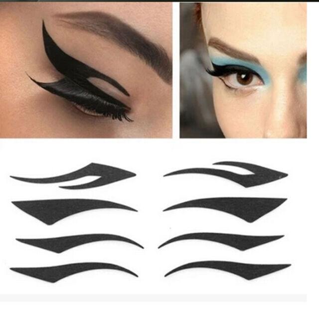Temporary Eye Tattoo Transfers&Eyeliner Sticker&Eye shadow Sticker Transfer LJAU