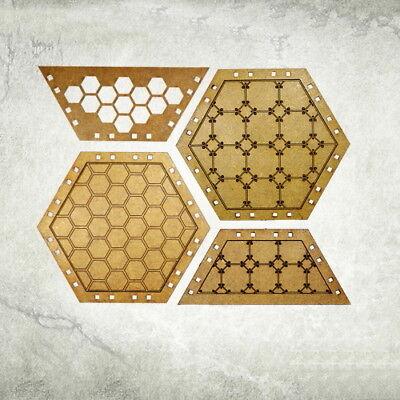 Industrial Platforms-reinforced Kromlech Hdf Tabletop Scenics Krts 047-mostra Il Titolo Originale
