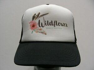UnermüDlich Wildflower Mobile Boutique Kleidung & Accessoires Einheitsgröße Trucker Style Snapback Ball Kappe Hut Damen-accessoires