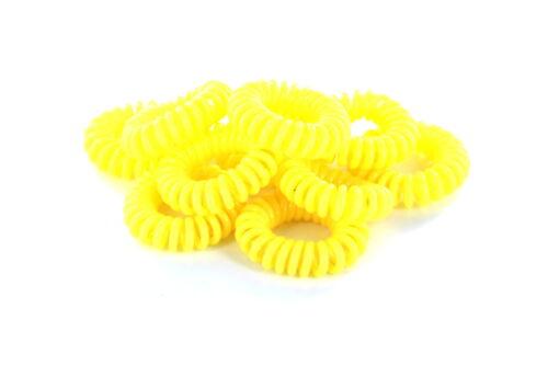 enfants chouchou Bijoux de cheveux câbles téléphoniques Chouchou élastique spiralgummi