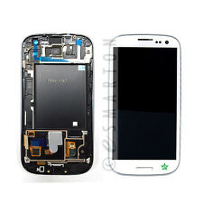 White Samsung Galaxy S3 T999 I747 LCD Touch Digitizer Screen Assembly NO LOGO