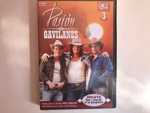 PASION-DE-GAVILANES-DVD-3-NUEVO-PRECINTADO-INCLUYE-FOTOS-Y-BIOGRAFIAS-NEW-SEALED