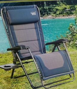 Timber Ridge Zero Gravity Chair With Side Table Ebay