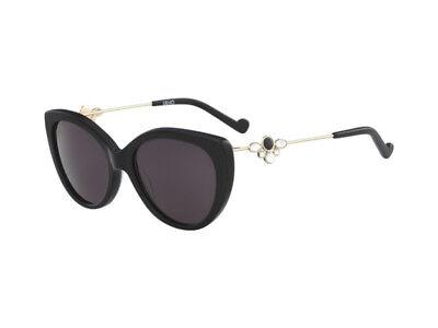 Manuscrito Correspondiente a Interpretar  gafas de sol LIU JO LJ686SR 34786 metal strass oro gris negro 001 | eBay