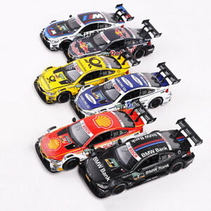BMW M4 DTM 2017 1:32 Scale Racing Car Model Diecast Gift Toy Vehicle Pull Back