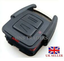 2 pulsanti chiave con telecomando e protezione For Vauxhall Opel