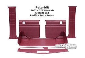 Image Is Loading Peterbilt Interior 378 UltraCab Sleeper Cab Upholstery Kit