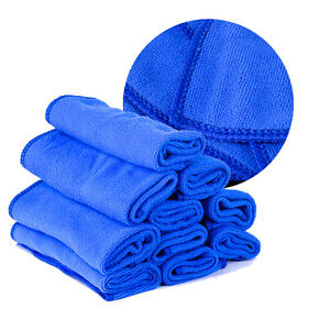 10pcs autow sche handtuch mikrofaser t cher auto reinigung weichen waschen ebay. Black Bedroom Furniture Sets. Home Design Ideas