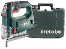 METABO 450W ELECTRIC 240v PENDULUM JIGSAW CUTTING SAW IN CASE & 2 BLADES STEB65Q