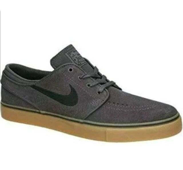 Arquitectura clon Discutir  Nike SB Zoom Stefan Janoski Men's 8.5 Grey Black Brown Skate Shoe 333824  069 for sale online