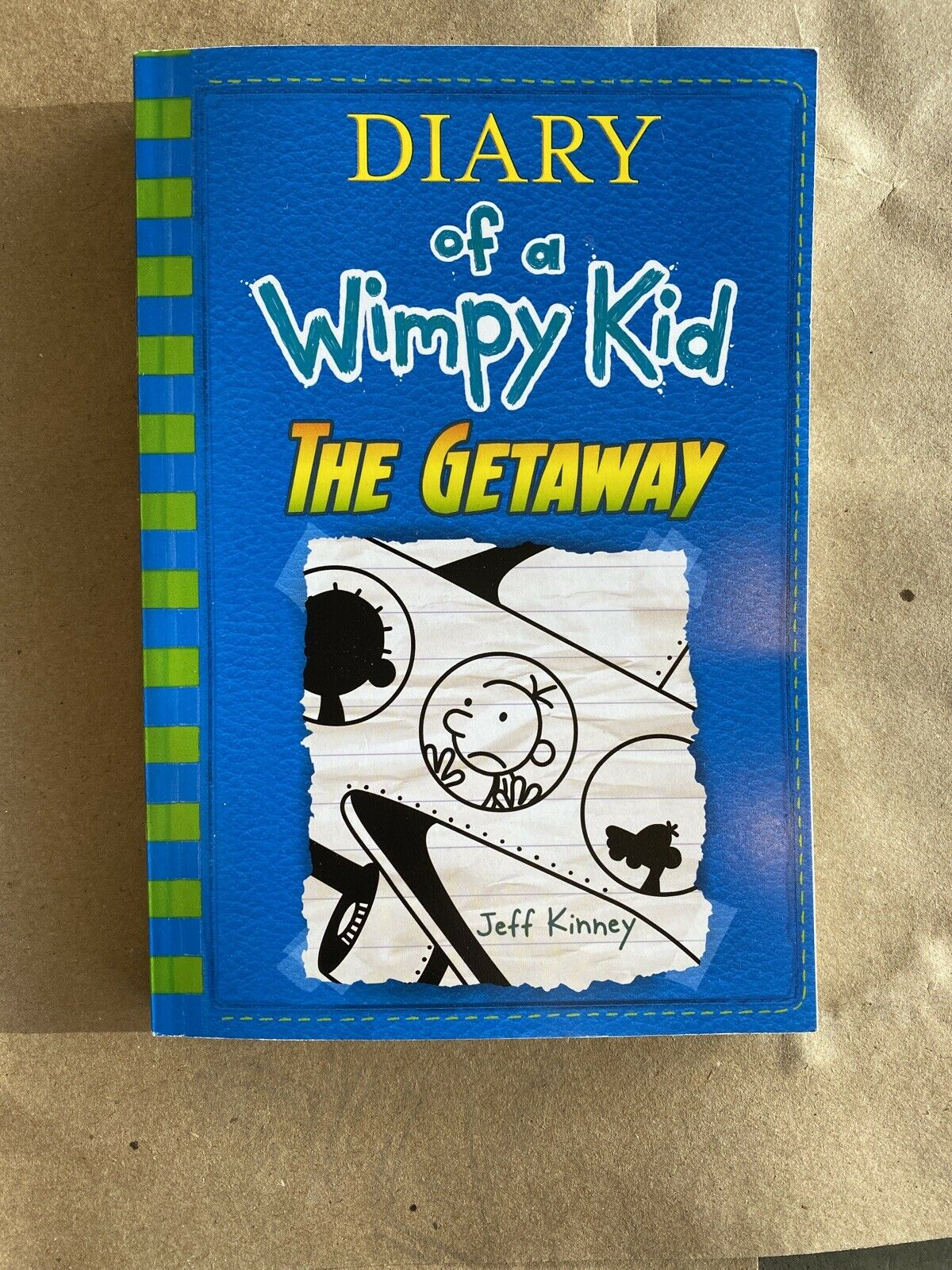Diary Of A Wimpy Kid The Getaway Book 12 Paperback Edition Jeff Kinney For Sale Online Ebay