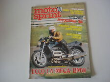 MOTOSPRINT 43/1982 TEST VILLA 50 GP/APRILIA 125 ST STRADA