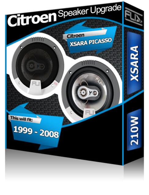 Citroen Xsara Picasso Front Door Speakers Fli Audio car speaker kit 210W